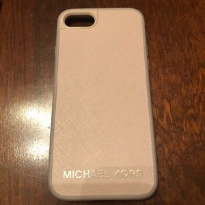 Michael Kors Soft Pink iPhone Case